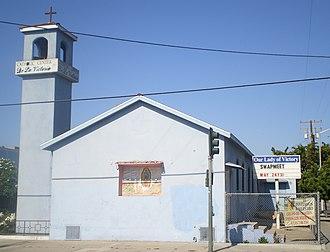 San Gabriel Pastoral Region - Image: Our Lady of Victory Catholic Center, Los Angeles