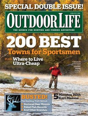 Outdoor Life - June/July 2009 issue of Outdoor Life featuring the magazine's redesign.