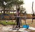 Oxfam is helping to purify 1m litres of water a day (12453896424).jpg