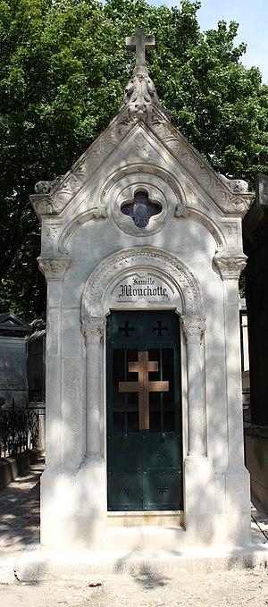 René Mouchotte - Mouchotte's tomb at Père Lachaise Cemetery in Paris