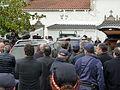 P1110171 Enterro Fraga Perbes - coche funebre, Feijoo.JPG