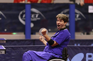 Borislava Perić Serbian table tennis player