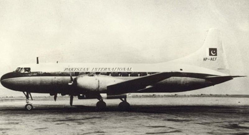 PIA Convair CV-240 in late 50s. circa.jpg