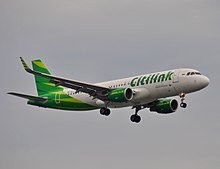 Citilink wikipedia citilink airbus a320 200 during final approach at ngurah rai airport reheart Image collections