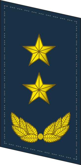 Ranks of the People's Liberation Army Air Force - Image: PLAAF Collar 0719 LTG