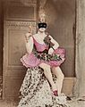 PP-KEB-E-6-6 Man seated wearing a pink tutu and shoes Wellcome L0028607.jpg