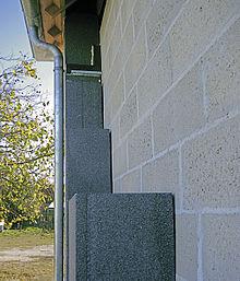 Mur manteau wikip dia - Isolation exterieure polystyrene graphite ...