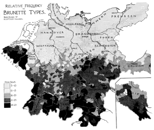 PSM V52 D068 Relative frequency of brunette types in germany.png
