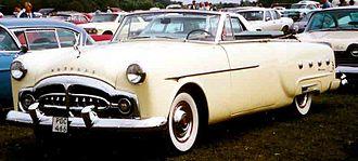 Packard 200 - 1951 Packard 250 convertible