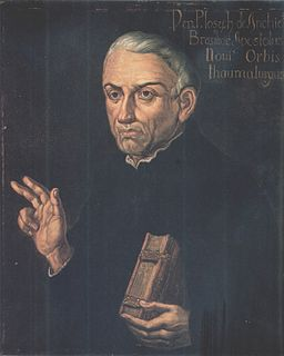 Joseph of Anchieta 16th century Spanish Jesuit missionary and botanist in Brazil