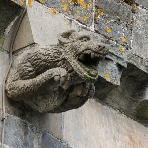 Gargoyle on Paisley Abbey