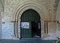 Pajares de la Lampreana, Iglesia de San Pedro, puerta.jpg