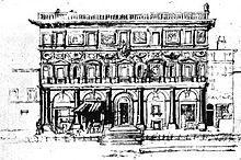 Palazzo Branconio dell'Aquila, now destroyed (Source: Wikimedia)