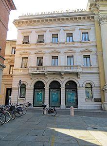 La sede centrale di piazza Garibaldi a Parma