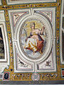 Palazzo di sforza almeni, sala con affreschi, figura allegorica 06.JPG