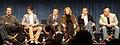 PaleyFest 2010 - Breaking Bad - creator Vince Gilligan, RJ Mitte (Walt Jr), Aaron Paul (Jesse Pinkman), Anna Gunn (Skyler White), Bryan Cranston (Walter White), Dean Norris (Hank).jpg