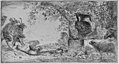 Pan reclincing near a large vase set in a landscape MET dp17.50.17-464.R.jpg