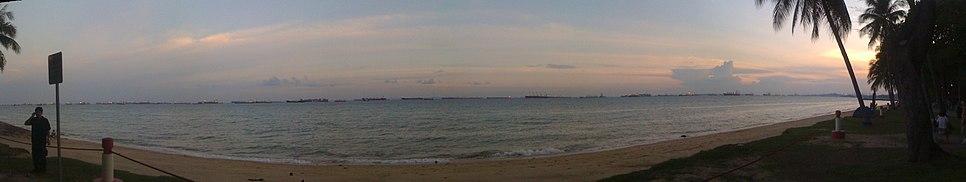 Panaromic View of East Coast Park Coast