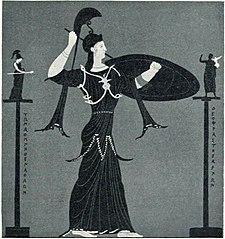 Παναθηναϊκός αμφορέας (Μουσείο του Λούβρου αρ. MN706)
