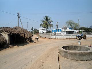 Pandrangi Village in Andhra Pradesh, India