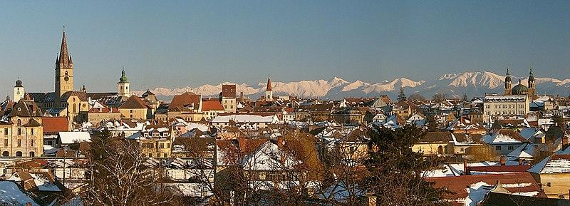 Panorámica de Sibiu