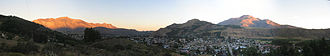 Esquel, Argentina - Panoramic view of Esquel from a nearby hill.