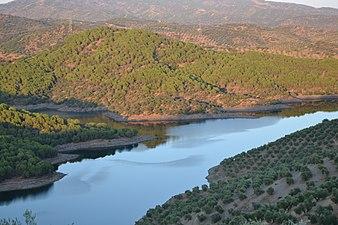 Pantano del Yeguas. Parque natural de la Sierra de Cardeña y Montoro.JPG
