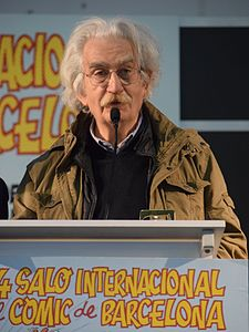 Paolo Eleuteri Serpieri. Barcelona International Comic Convention 2016.JPG