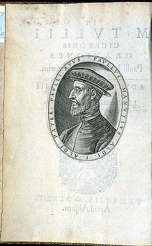 Manuzio, Paolo (1512-1574)
