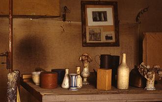 Giorgio Morandi - Morandi's studio in via Fondazza