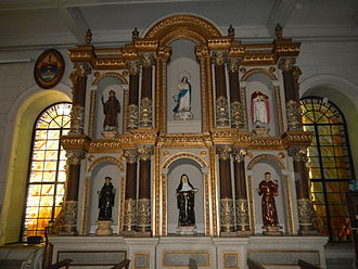 Parañaque Cathedral - The Retablo