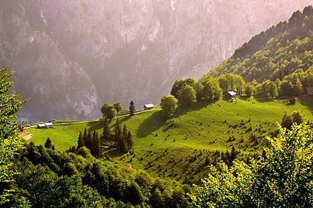 Typical landscape in Rugova within the Albanian Alps. Paradise Lost.jpg