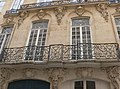 Paris - hôtel du Barry - balcon fer forgé.jpg
