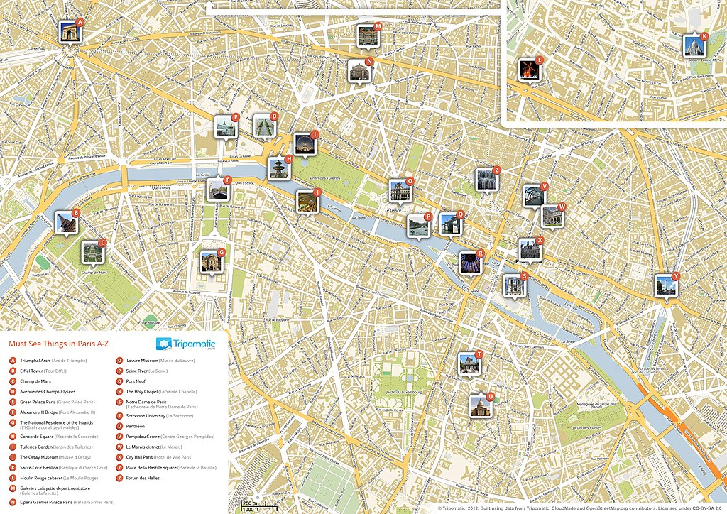 File Paris Printable Tourist Attractions Map Jpg Wikimedia Commons