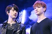 Park Jinyoung and JB in 2015.jpg