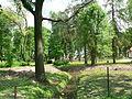 Park przy dworku w Dąbrowie wiosną 02.JPG