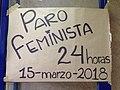 Paro feminista en FFyL, Ciudad de México.jpg