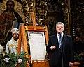 Participation of the President of Ukraine in the festive Christmas liturgy in Saint Sophia, Kiev 22.jpeg