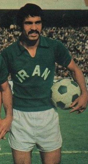 Parviz Mazloumi - Mazloomi in 1975