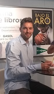 Pau Gasol Spanish basketball player
