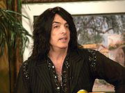 Paul Stanley while showing some of his paintings in San Diego, September 2007.