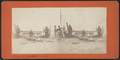Paul Boynton with his dog, Atlantic City, N.J, from Robert N. Dennis collection of stereoscopic views.png