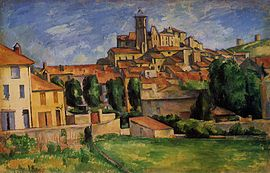 View of Gardanne by Cézanne
