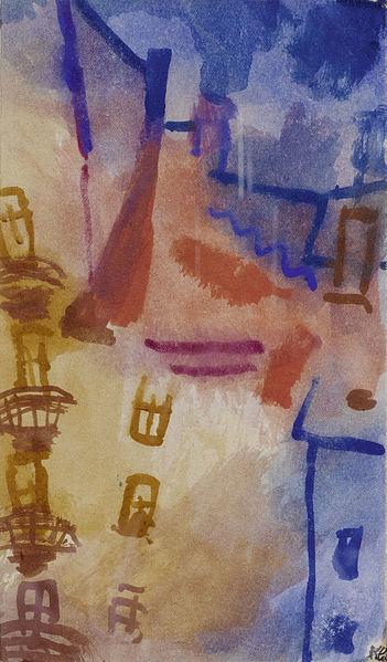 File:Paul Klee Der Hof (Sonne im Hof) 1913.jpg