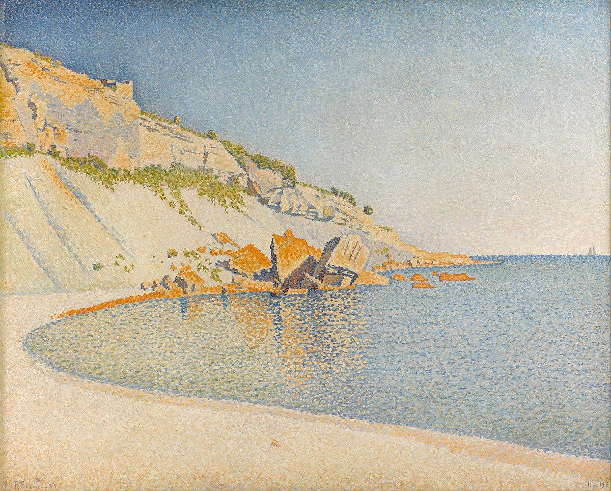 Paul Signac - Cassis, Cap Lombard, Opus 196 - Google Art Project.jpg