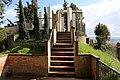 Peccioli, terrazza sul sito dell'antico castello, 01.jpg