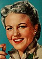 Peggy Lee - Chesterfield is my cigarette, 1953 (cropped).jpg