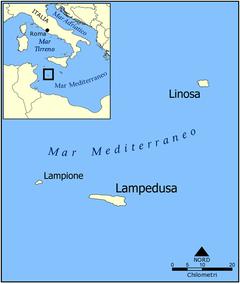 lampedusa karta Lampedusa   Wikipedia lampedusa karta