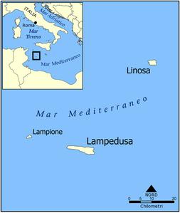 Lampedusa Sulla Cartina Geografica.Isola Di Lampedusa Wikipedia
