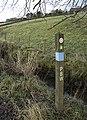 Pennine Bridleway marker - geograph.org.uk - 1132175.jpg